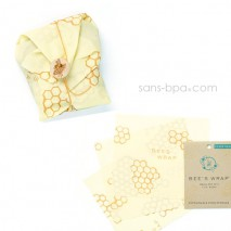 Pack Bee's Wrap Sandwich & small