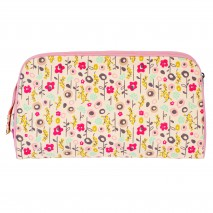 Trousse de toilette coton bio BLOOM