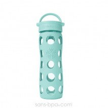 Gourde verre 475 ml TURQUOISE