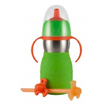 Safe Sippy anti-fuite 330ml POMME