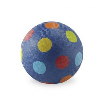 Ballon 18 cm Bleu multi-pois de Crocodile Creek