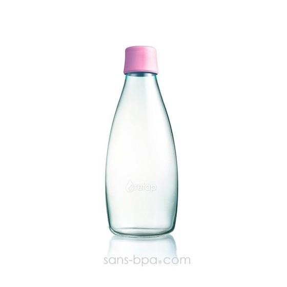 Gourde verre 800 ml AZUR