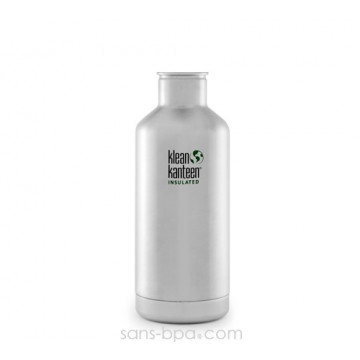 Gourde isotherme inox 950 ml - SILVER