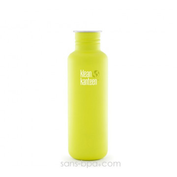 Gourde inox 800 ml LIME POP