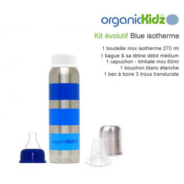 Kit évolutif Isotherme GE 270ml BLUE