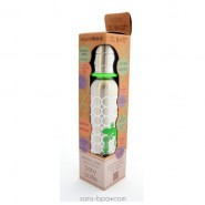 Biberon isotherme Gecko - 270 ml goulot étroit - Organic Kidz