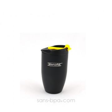Gobelet inox isolé 240 ml - Noir - DOPPIO Deluxe