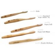 Brosse à dents SUPER SOFT 100% biodégradable - Eco Bamboo