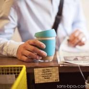 Joco Cup tasse à emporter en verre - Rouge