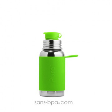 Gourde inox 550ml Green