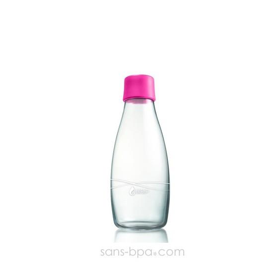 Gourde verre 300 ml - MAGENTA