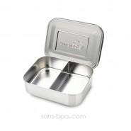 Boite compartiment 100% inox DUO