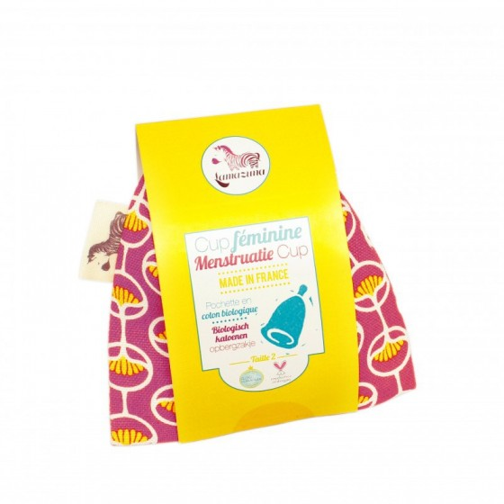 Coupe menstruelle Taille 1 - Framboise