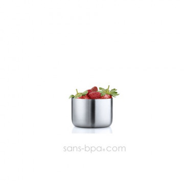 Petit pot haut inox 220 ml - Basic