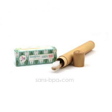 Pack TRIO dents : Dentifrice + brosse à dents VAGUE + étui