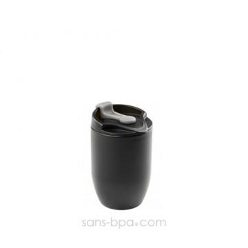 Gobelet inox isolé 200 ml - Noir - DOPPIO Deluxe