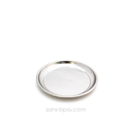 Assiette inox 14 cm PLATE