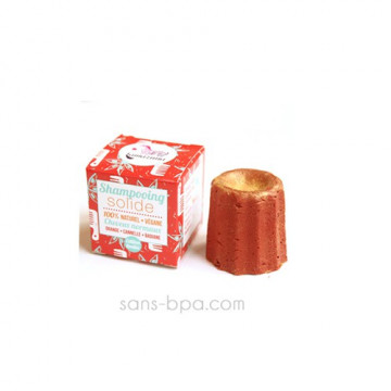 Shampooing solide à paillettes Orange Cannelle 55g