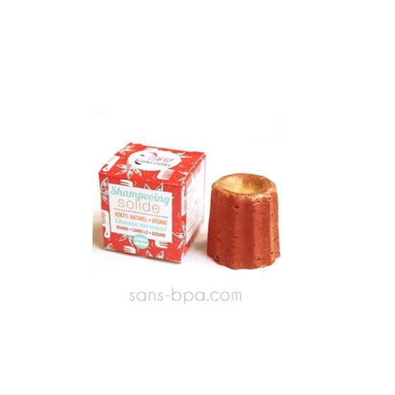 Shampooing solide à paillettes Orange Cannelle 55g
