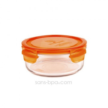 Contenant verre Meal Bowl 660 ml - Carotte