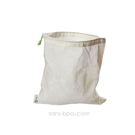 Lot 5 sacs à vrac tissus gaze - Grands 30 x 35
