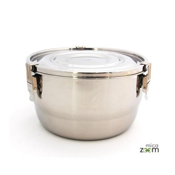 Cabosse - Boite inox diamètre 16cm - ONYX