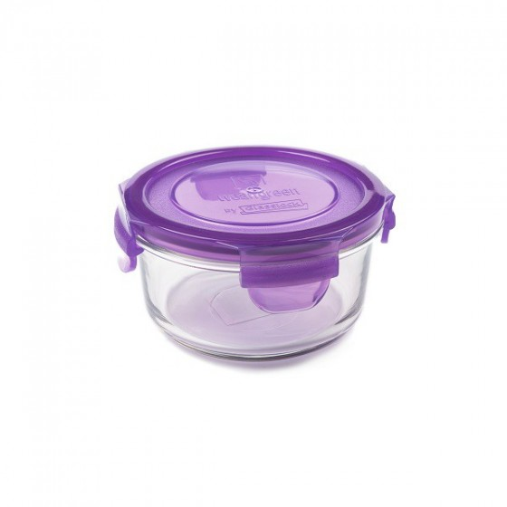Contenant verre Lunch Bowl 400ml - Framboise