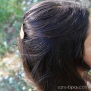 Barrette à cheveux bois - Basique