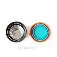 Ensemble 3 boites inox & silicone - S-M-L - SEAL