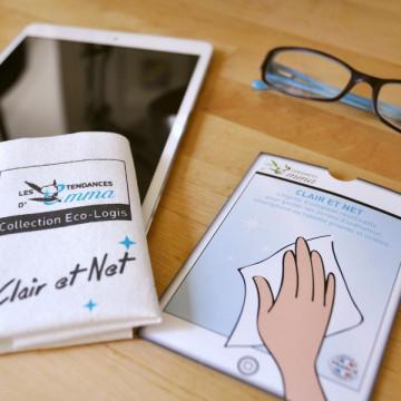 Clair & Net - Lingette pour tablette