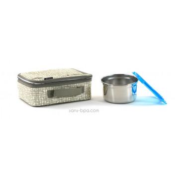 Pack Lunchbox Mesh+ Boites inox Clicks 1000ml Lunchbots