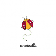 Autocollant permanent pour décorer timbales et boites - Ecococoon