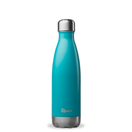 bouteille isotherme inox turquoise 500ml sans. Black Bedroom Furniture Sets. Home Design Ideas