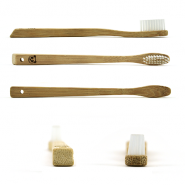 Lot 2 brosses à dents bambou Modèle Kid