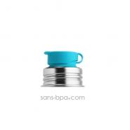 Gourde inox 550ml - Bicolor Bleu