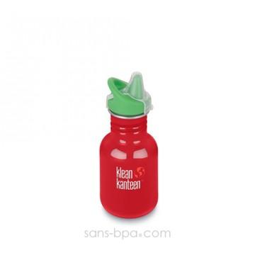Gourde anti-fuite 355 ml - Inox