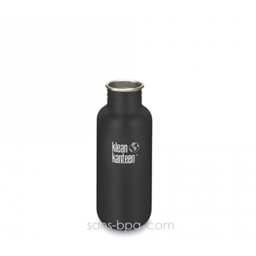 Gourde inox 500 ml SHALE BLACK * COAT *