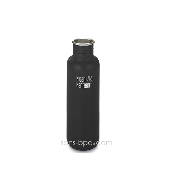 Gourde inox 800 ml NOIR