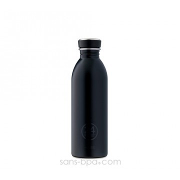 Gourde inox 500 ml URBAN - BLACK