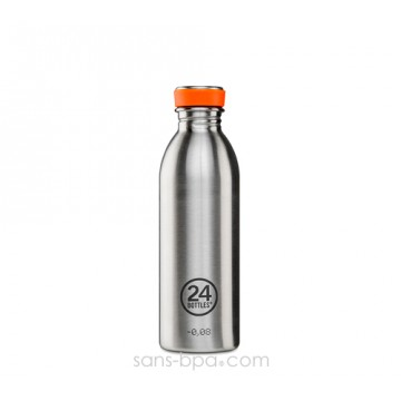 Gourde inox 500 ml URBAN - INOX