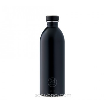 Gourde inox 1000 ml URBAN - BLACK