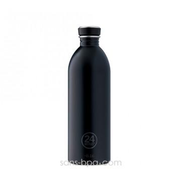 Gourde inox 1000 ml - BLACK