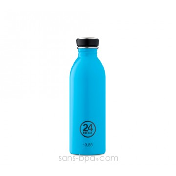 Gourde inox 500 ml URBAN - LAGOON BLUE
