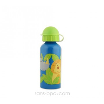 Gourde inox 400 ml - Singes