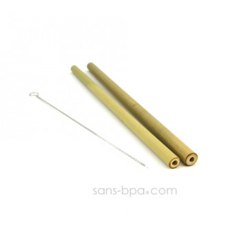 Lot 2 pailles bambou sans-bpa.com