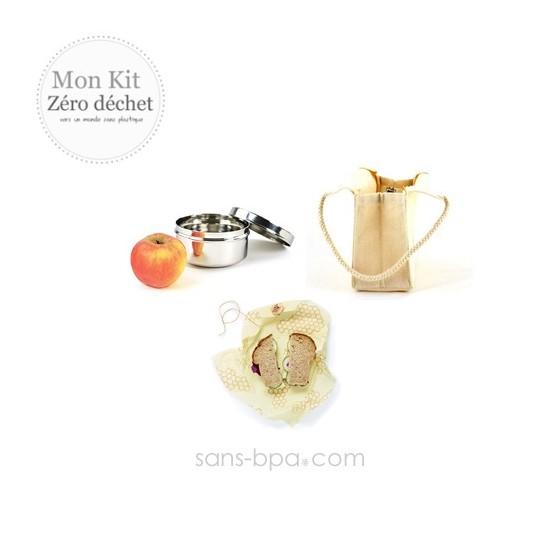 Kit Zéro Déchet - Goûter malin