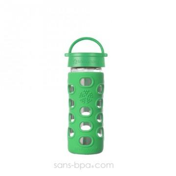 Gourde verre 350ml CLASSIQUE - Green