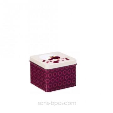 Boite métal cube OURSONS