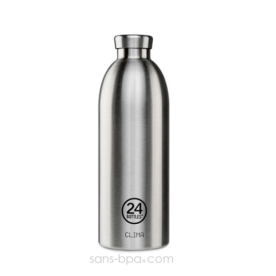 Bouteille inox isotherme 850ml - CLIMA INOX