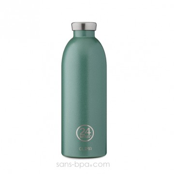 Bouteille inox isotherme 850ml CLIMA - MOSS GREEN